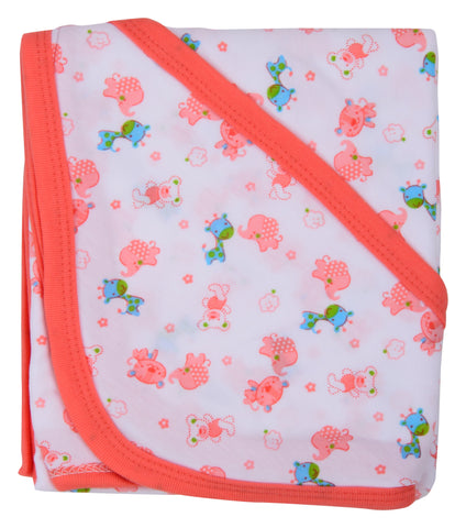Multi Color Cotton Soft Baby Towel  - JMA134