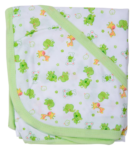 Multi Color Cotton Soft Baby Towel  - JMA135