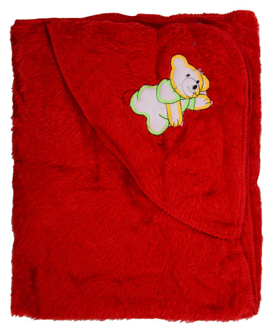 Red Color Cotton Soft Baby Towel  - JMA148
