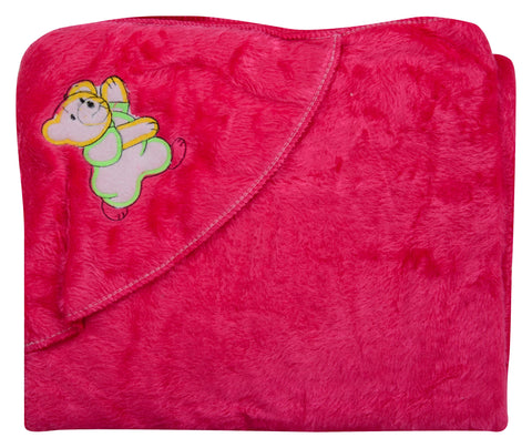 Pink Color Cotton Soft Baby Towel  - JMA153