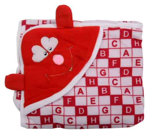 Red Color Cotton Soft Baby Towel  - JMA154