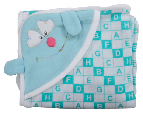 Blue Color Cotton Soft Baby Towel - JMA159