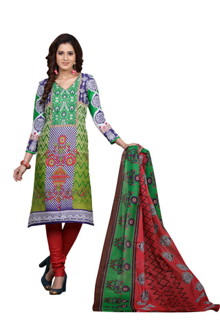 Multi Color Cotton  Stitched Salwar  - Joy-2012