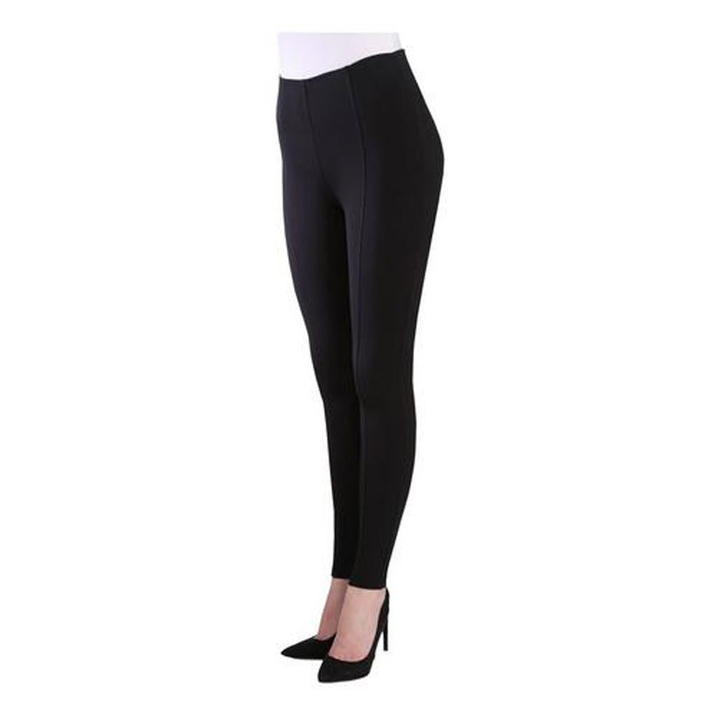 VENUSGRAB-Black Color Imported Roma Jegging - Js0202