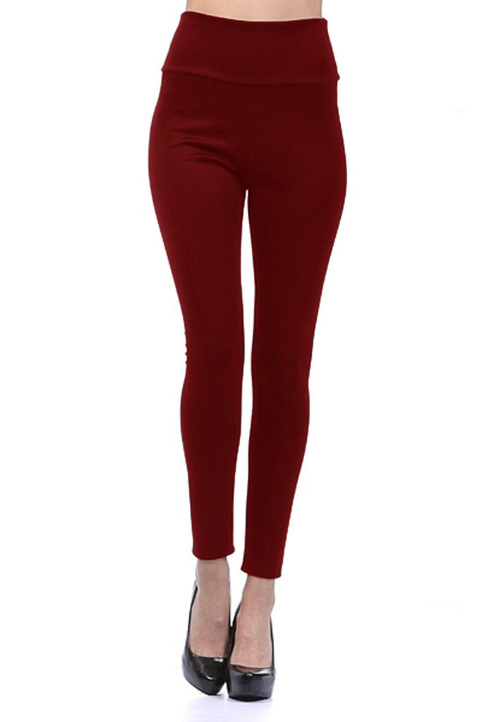 Maroon Color Imported Roma Jeggings
