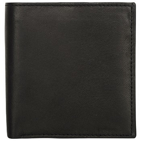 Black Color Leather Credit Card Holder - K121BLACK