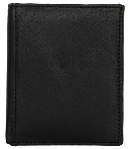 Black Color Leather Credit Card Holder - K122BBLACK