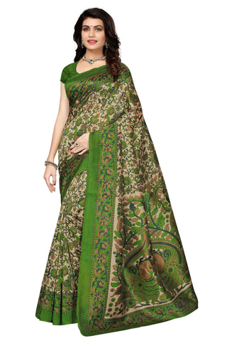 Green Color Mysure Silk  Saree - K18
