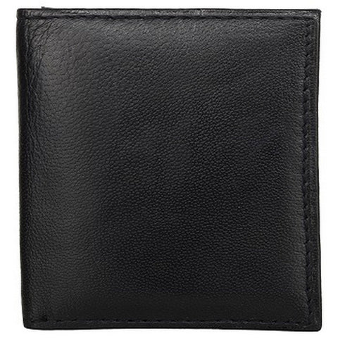 Black Color Leather Credit Card Holder - K23BLACK