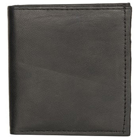 Black Color Leather Credit Card Holder - K522BLACK