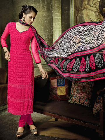 Rani Color Georgette Unstitched Dress Material - KFRPSPSE