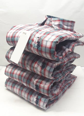 Multi Color Premium Cotton Men's Checkered Shirt - KG-191019-US-CH-13
