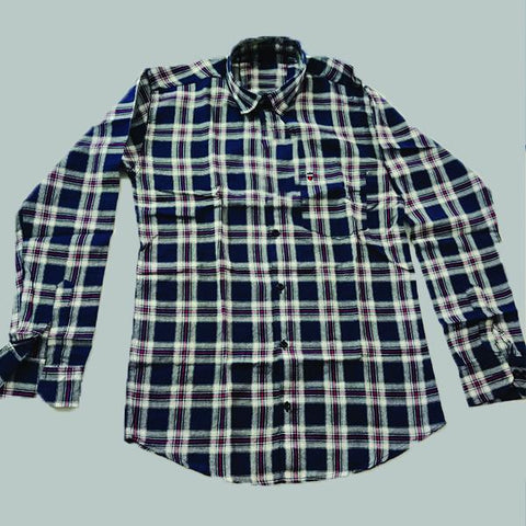 Multi Color Premium Cotton Men's Checkered Shirt - KGC-311019-LP-CH-1