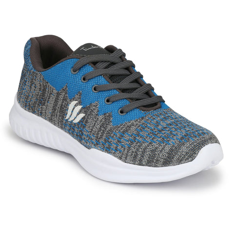 Blue Color Fly Knit Men Shoe - KNIT4-BLUE