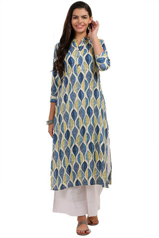 Multi Color Rayon Women's Stitched Kurti - KUR190086
