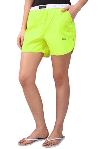 Flurocent Color Cotton Women's Boxer - KWB4006