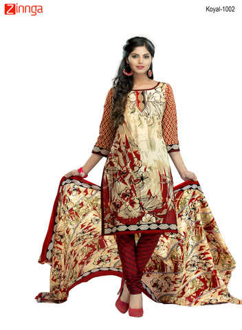 Multi Color Cotton  Stitched Salwar  - Koyal-1002