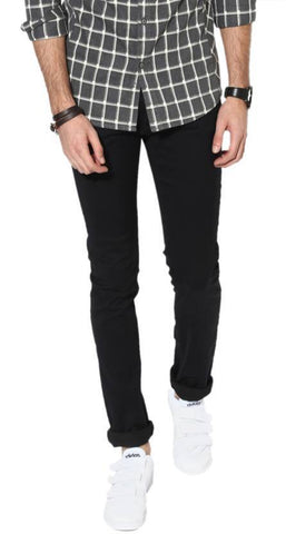 Lawson Skinny Men's Black Denim Jeans - LBlack06
