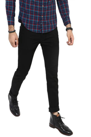 Lawson Skinny Men's Black Denim Jeans - LBlack09