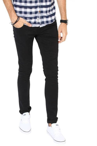 Lawson Slim Men Black Denim Jeans - LBlack15