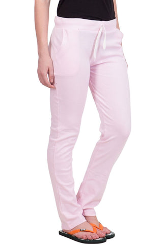 Pink Color Cotton Women Lower - LS-J-PINK