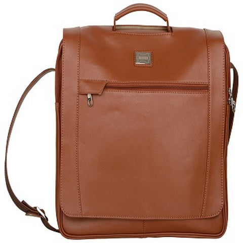 Tan Color Leather Men Laptop Bag - LT-054-A