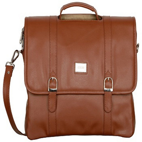 Tan Color Leather Men Laptop Bag - LT-055-A