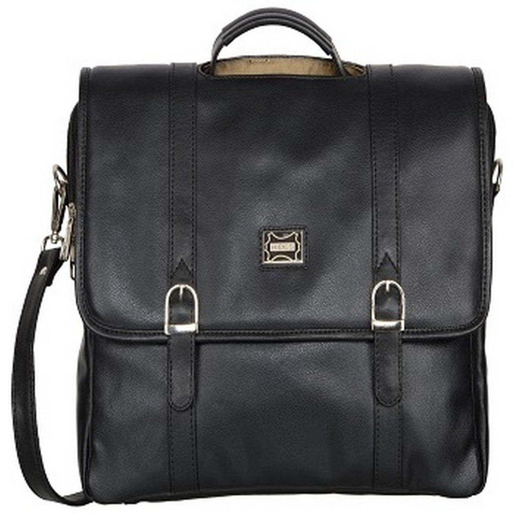 Buy Black Color Leather Women Laptop Bag