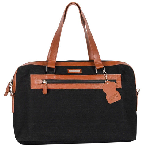 Tan Color Leather Women Laptop Bag - LTC-104-A