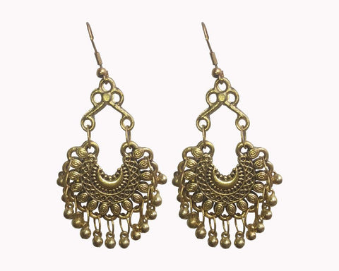 Gold Color Mattel Beautiful Earring - LV018