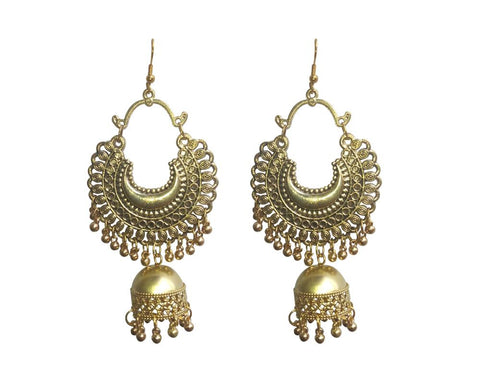 Gold Color Mattel Beautiful Earring - LV023