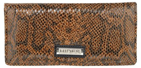 Orange Color Leather Womens Wallet - LW-40
