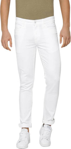 Lawson Skinny Men's White Denim Jeans - LWhite11