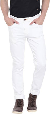 Lawson Skinny Men's White Denim Jeans - LWhite15