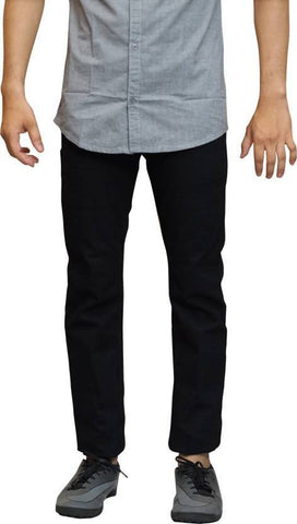 Lawson Skinny Men's Black Cotton Denim Jeans - Lawb02