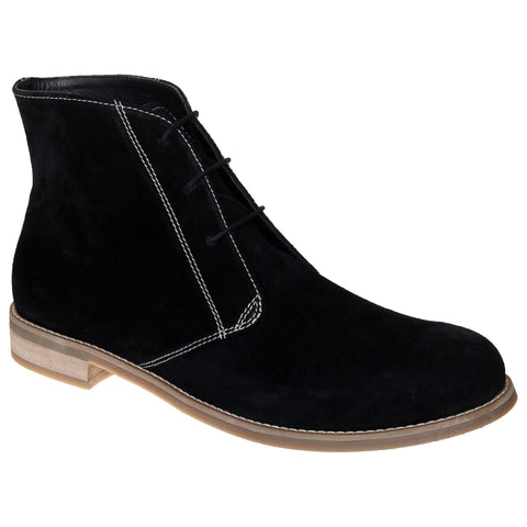 LOZANO Black Color Suede Mens Casual  Boots - Lozano-16