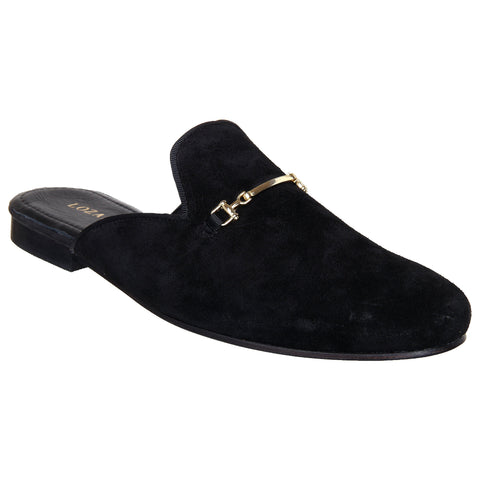 LOZANO Black Color Synthetic Mens Casual Slip-On Shoes - Lozano-19
