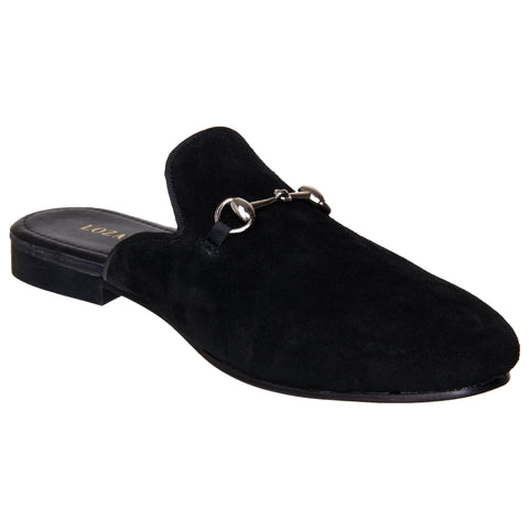 LOZANO Black Color Synthetic Mens Casual Slip-On Shoes - Lozano-21