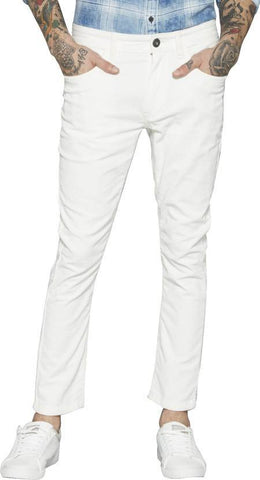 Lawson Skinny Men's White Denim Jeans - Lwhite13
