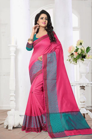Gajari Color Banarasi Silk Saree - MAST-MAST1082