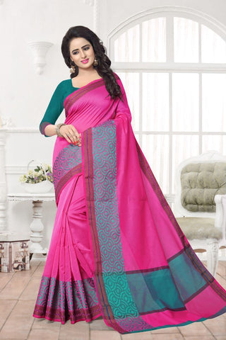 Pink Color Banarasi Silk Saree - MAST-MAST1086