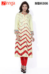 Nice Looking Womens Cotton Printed Kurtis