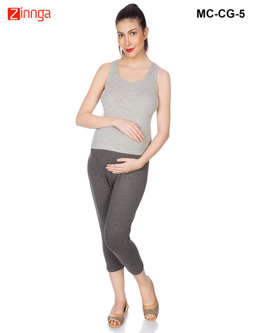 GOLDSTROMS-Women's Adjustable Maternity Pant - MC-CG- 1
