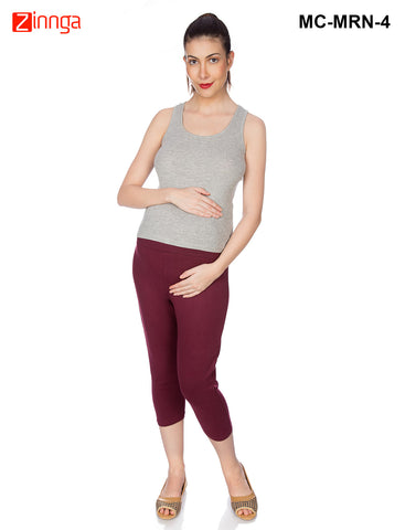 GOLDSTROMS-Women's Adjustable Maternity Pant - MC-MRN- 1