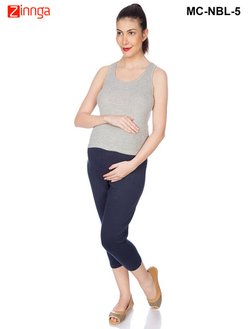 GOLDSTROMS-Women's Adjustable Maternity Pant - MC-NBL- 1