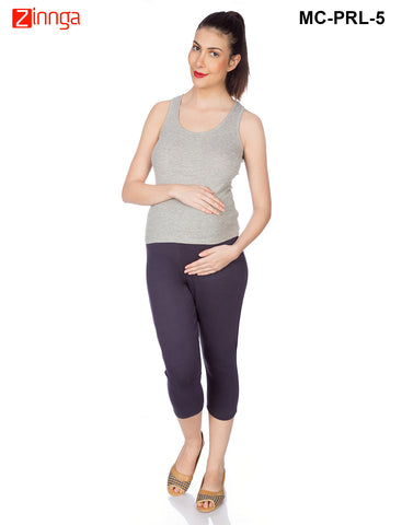 GOLDSTROMS-Women's Adjustable Maternity Pant - MC-PRL- 1