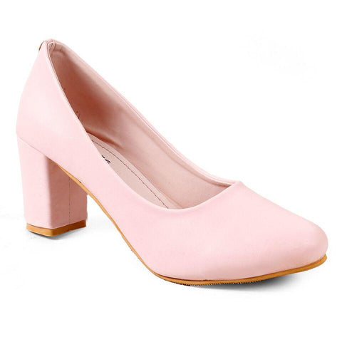MERIGGIARE Pink Color Synthetic Women Heels - MGFH4046S