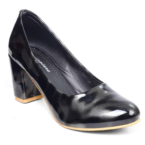 MERIGGIARE Black Color Synthetic Women Heels - MGFH4047A