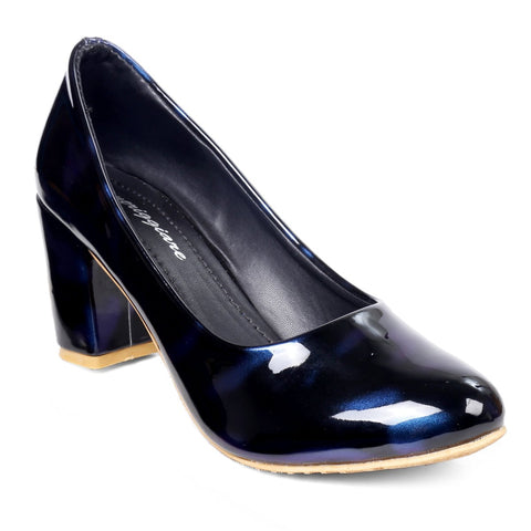 MERIGGIARE Blue Color Synthetic Women Heels - MGFH4047B