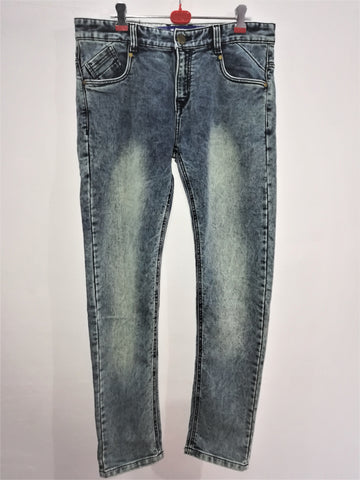 Grey Color Denim Men's Jeans - MJ-125